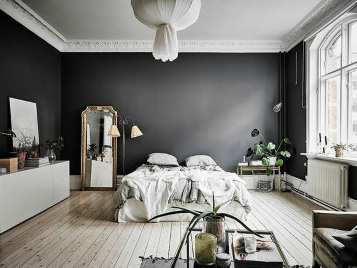 Id es chambre coucher design en 54 images sur for Mobilier de chambre blanc