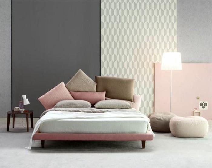 chambre-complete-adulte-couleur-pastel-mur-gris-fonce-moquette-blanc-gris
