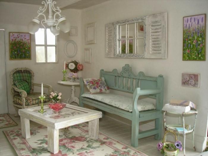 chambre-shabby-chic-fenetre-decorative-motifs-floraux