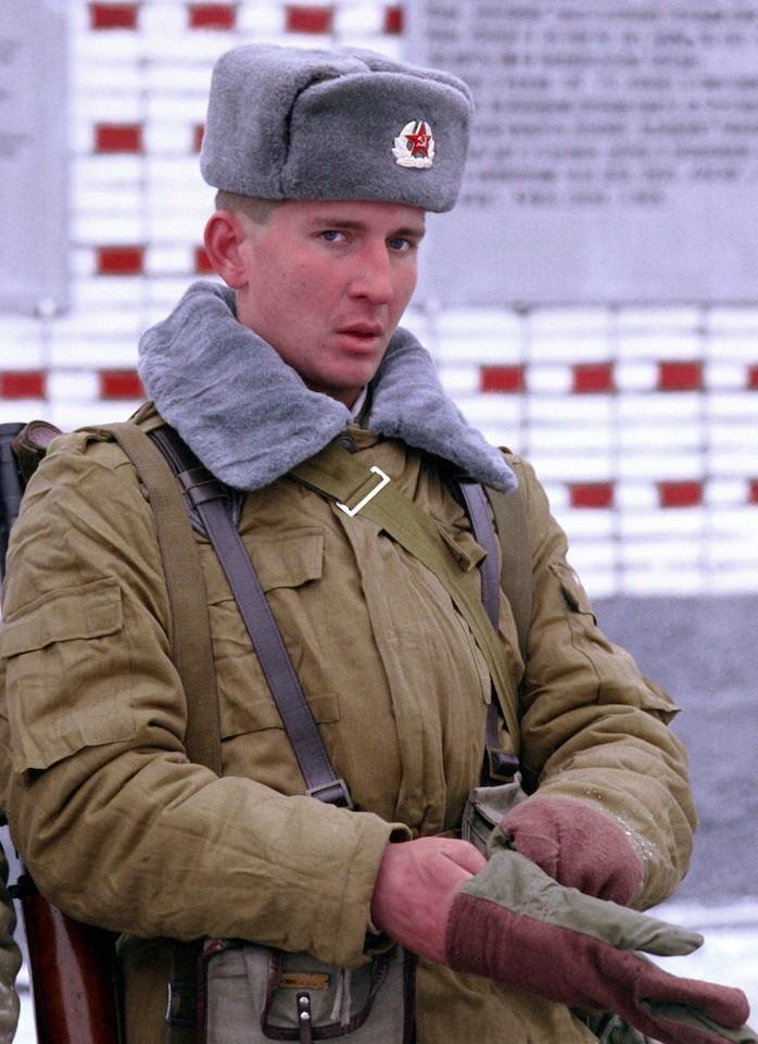 chapeau armée russie sovietique hiver vintage urss