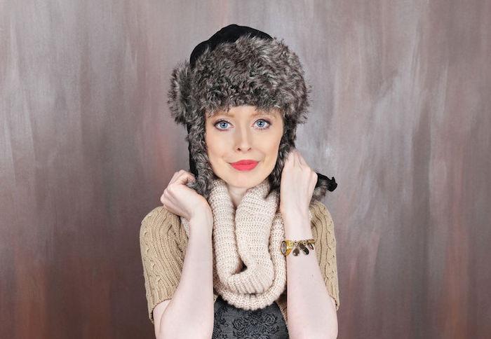 chapka-femme-ouchanka-fourrure-fille-bonnet-hiver-russe