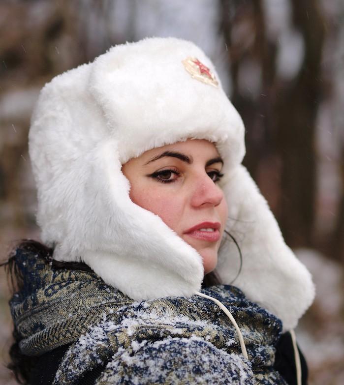 chapka russe chapeau fourrure femme ouchanka ushanka