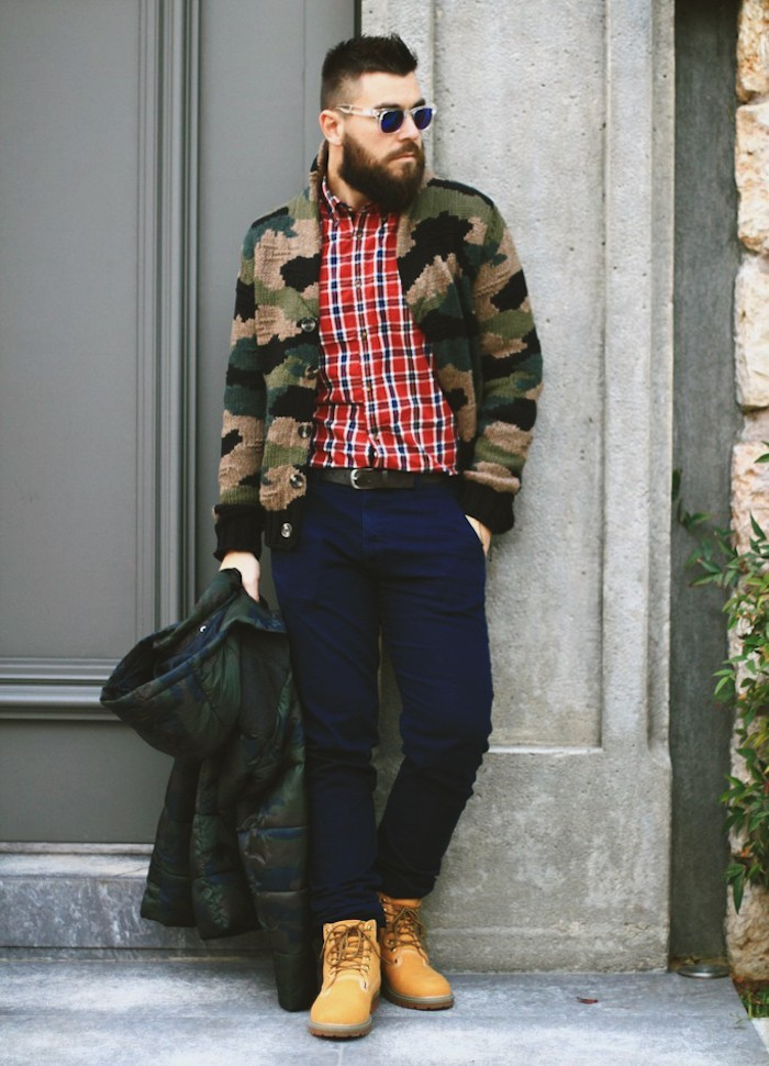 chaussure homme style timberland