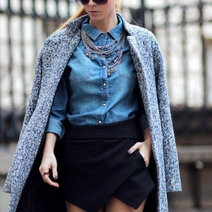Le manteau tweed fait son retour - la grande tendance en 69 photos