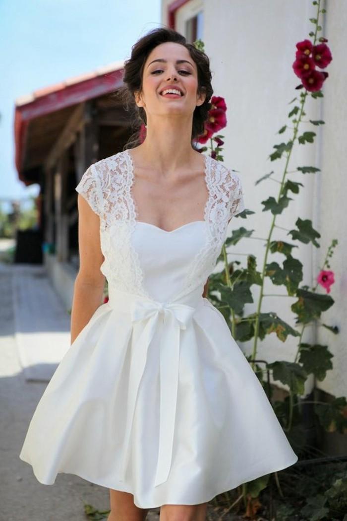 Trouvez votre robe de mari e courte 70 magnifiques id es for Robes de mariage petite macy