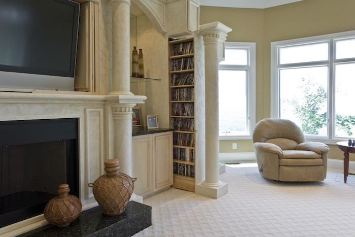 colonne-etagere-marbre-salon-livres-dvd-bibliotheque
