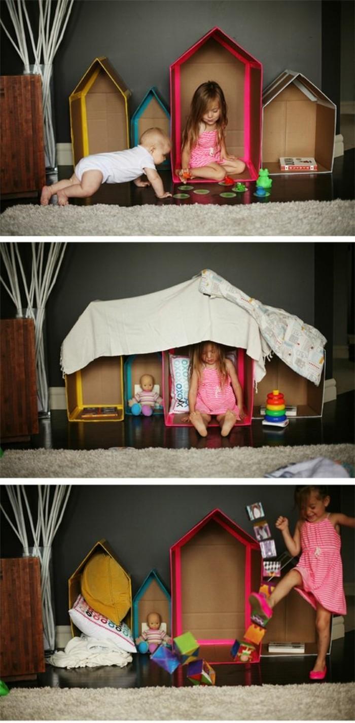 Cabane En Carton Diy comment fabriquer une cabane en carton - tuto et plusieurs