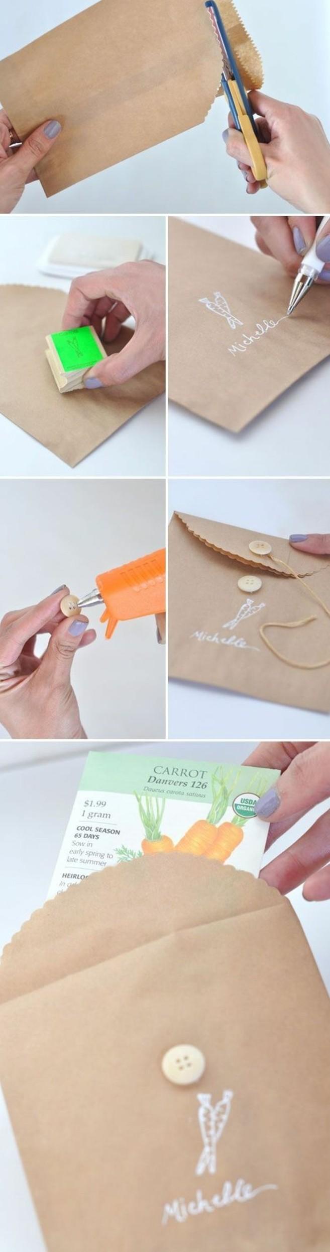comment-decorer-une-pochette-kraft-emballage-cadeau-diy