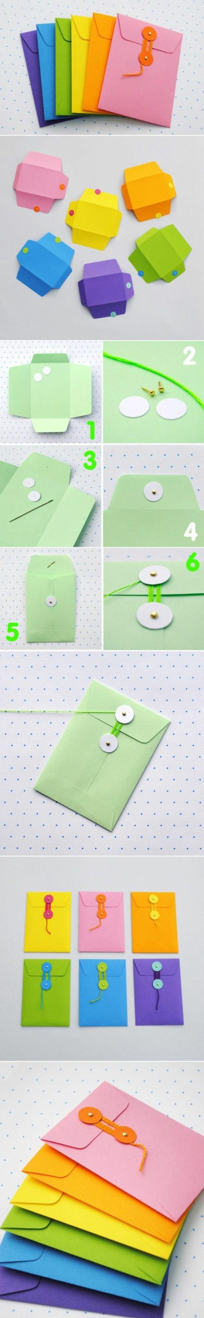 comment-fabriquer-une-enveloppe-suggestion-originale-enveloppes-de-couleurs-diverses-et-systeme-de-fermeture-interessant