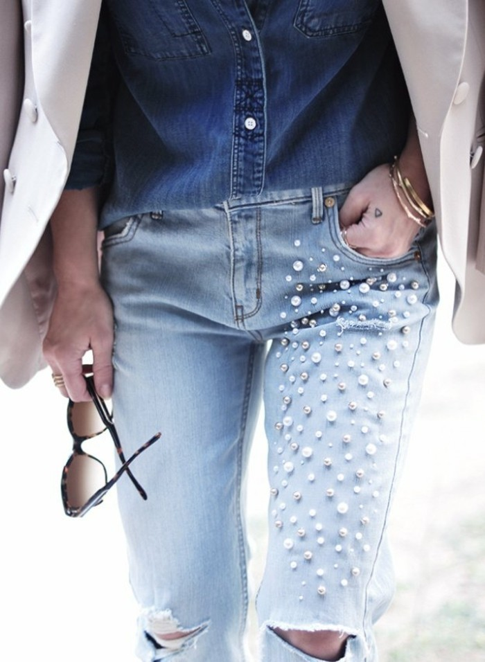 comment customiser un jean – 60 photos d'idées chic