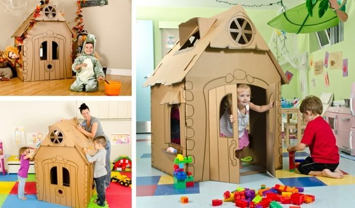 construire-une-cabane-carton-pour-ses-enfants-decoration-faite-par-les-enfants-maisonnette-enfant-sympa