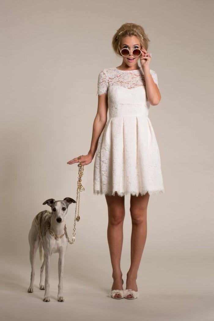 cool-robe-courte-de-mariee-robe-de-mariage-courte-adorable