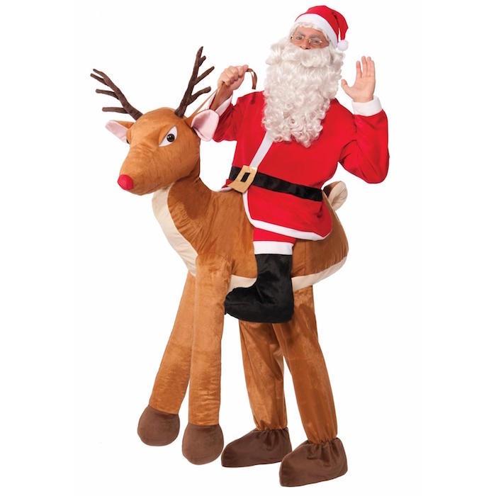 Top COSTUME Père Noël – le rouge et blanc sous toutes les coutures  EQ54
