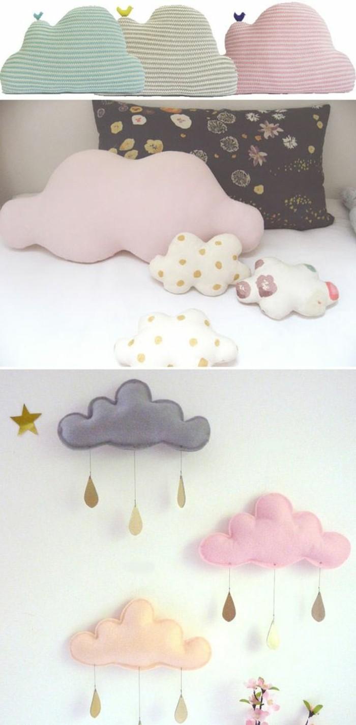 coussin-nuage-doux-rose-gris-orange-decoration-chambre-enfant
