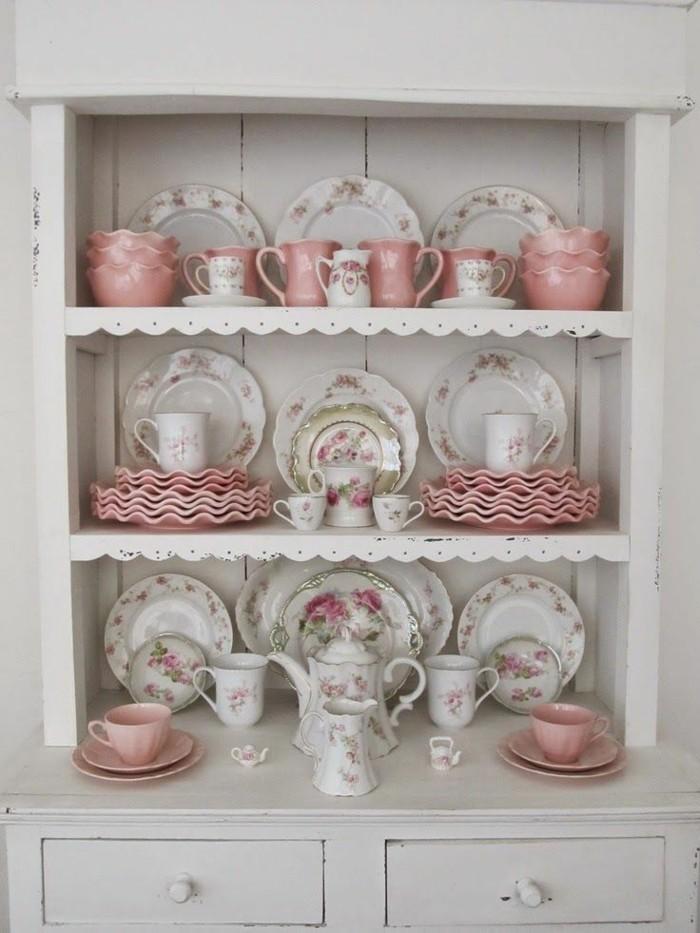 cuisine-shabby-chic-service-a-the-et-a-cafe-vintage-en-blanc-et-rose
