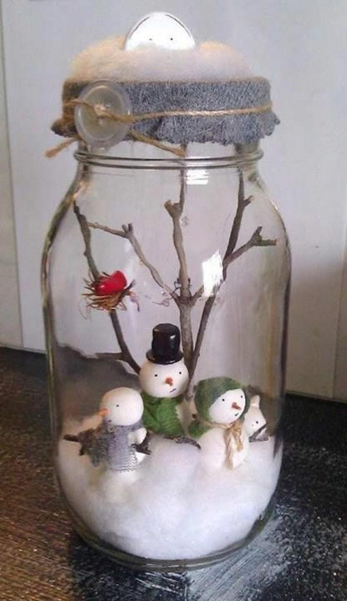 decoration-noel-bocal-mini-world-de-noel-bonhommes