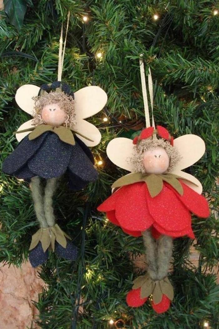 decorations-de-noel-a-faire-soi-meme-anges-en-tissu-de-laine-pendentif