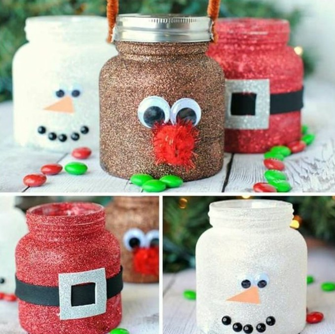 D corations de no l faire soi m me 60 photos d 39 id es diy - Idee de decoration de noel a faire soi meme ...