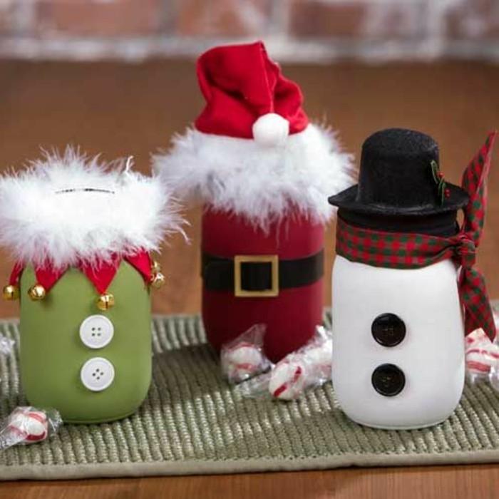 decorations-de-noel-a-faire-soi-meme-costumes-de-pere-noel-et-de-bonhomme-de-neige