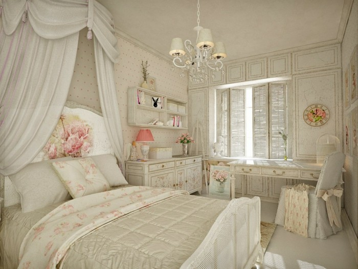 la d coration shabby chic mixer le pass et le pr sent. Black Bedroom Furniture Sets. Home Design Ideas