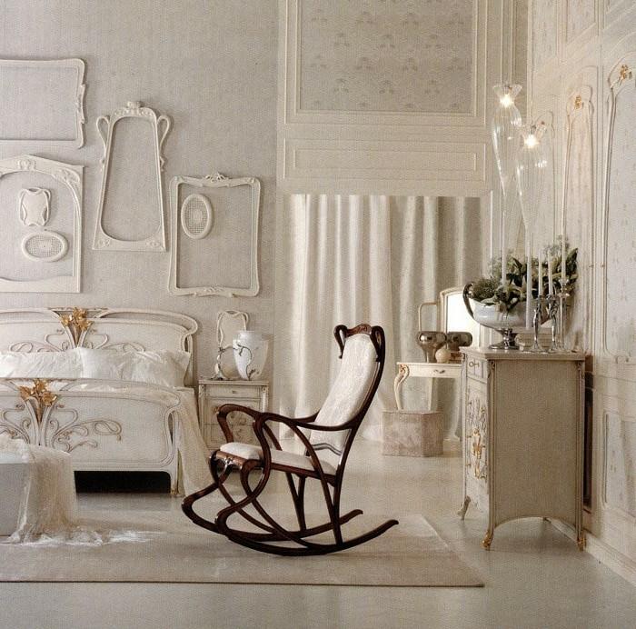 deco-romantique-chaise-a-bascule-decorations-murales-miroir