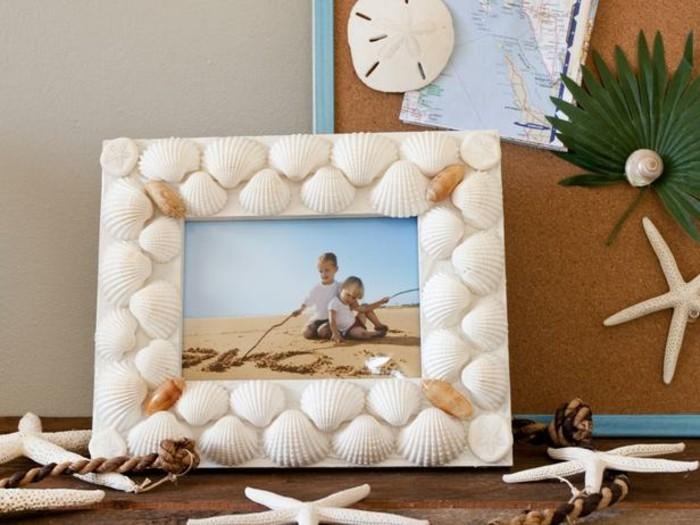 decoration-coquillage-mer-cadre-photo-enfants-desert-souvenir-inoubliable