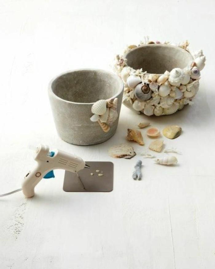 decoration-coquillage-mer-comment-orner-un-pot-a-fleur