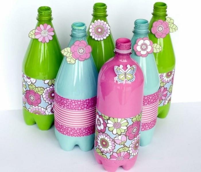des-bouteilles-en-plastique-transformees-en-pieces-decoratives-recyclage-bouteille-plastique