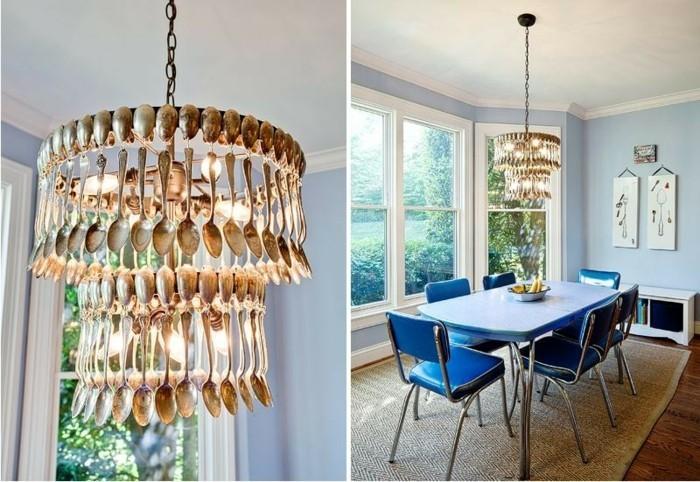 des-couverts-de-cuisine-dores-pour-faire-un-abat-jour-de-ses-propres-mains-luminaire-suspension-originale
