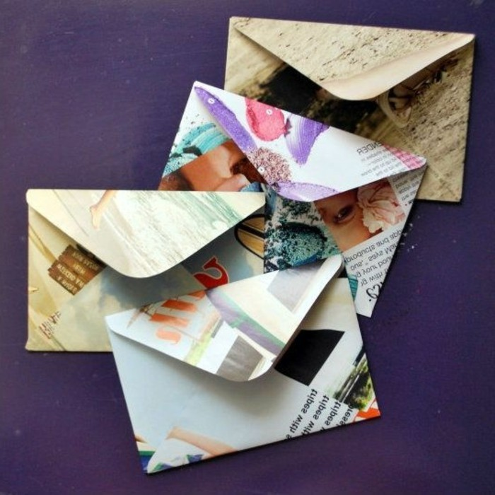 des-enveloppes-fabriquees-avec-des-pages-de-magazine-comment-fabriquer-une-enveloppe-diy-originale-et-facile