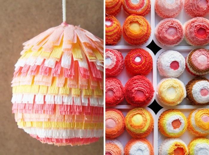 des-oeufs-multicolores-decores-de-papier-crepon-a-franges-idee-comment-faire-une-pinata-soi-meme