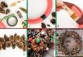 Pommes de pin pour la déco de Noël – 58 idées en photos