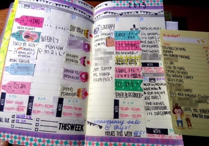 du-masking-tape-pour-personnaliser-les-pages-de-votre-planner-agenda-scolaire-modele-sympa