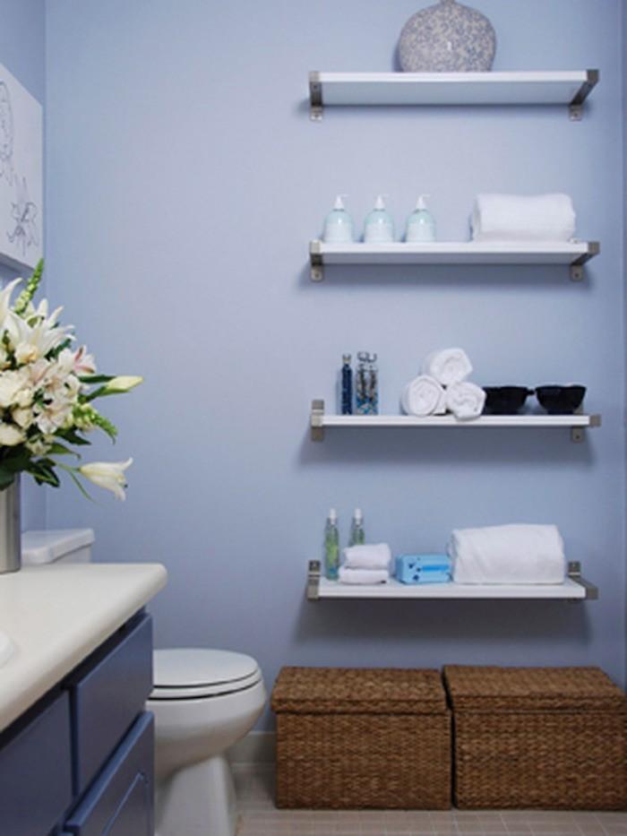 étagères salle de bain ikea pas cher rangement mural etageres murales meuble colonne