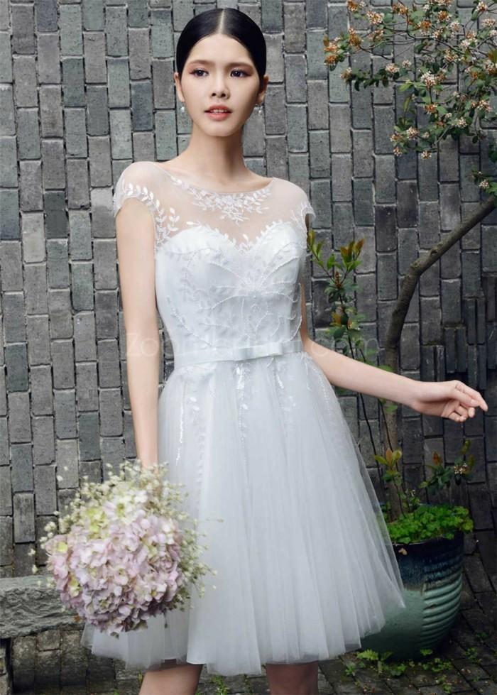 elegantes-robes-de-mariee-courtes-robe-mariage-civil-courte-courtes-cool-heart-shape