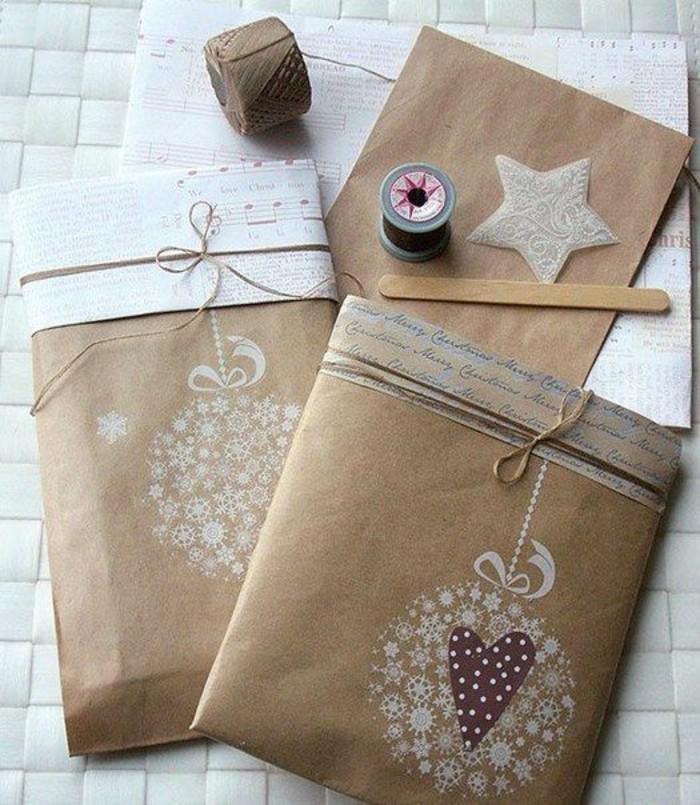 emballage-cadeaux-noel-avec-ficelle-et-petit-sachet-kraft