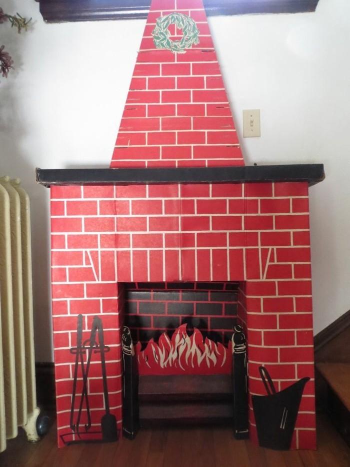 encadrement-cheminee-dessin-briques-rouges
