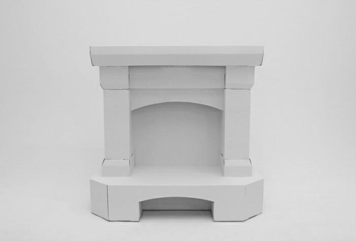 faire-une-cheminee-carton-peint-en-blanc