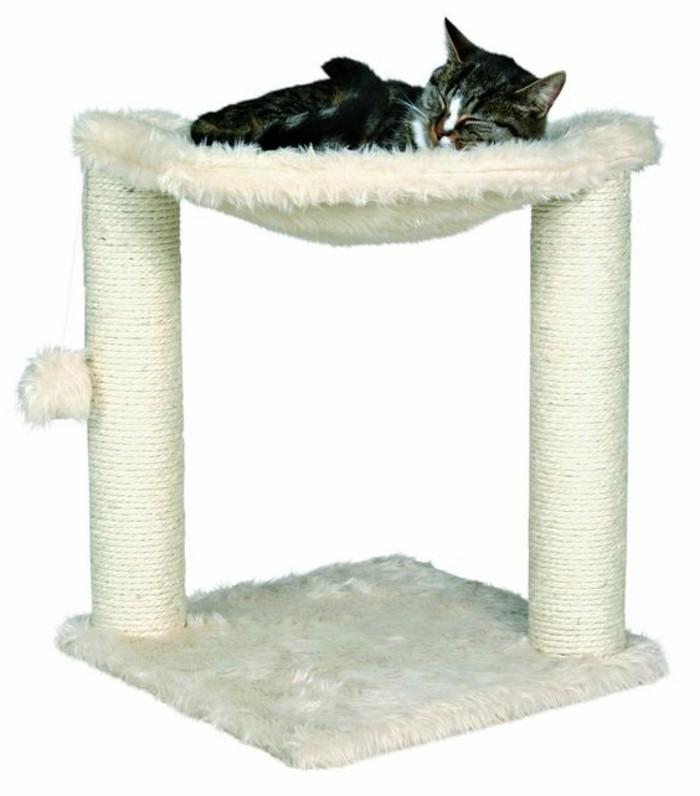 grand-arbre-a-chat-hamac-de-chat-blanc-moelleux-mobilier-pour-chat