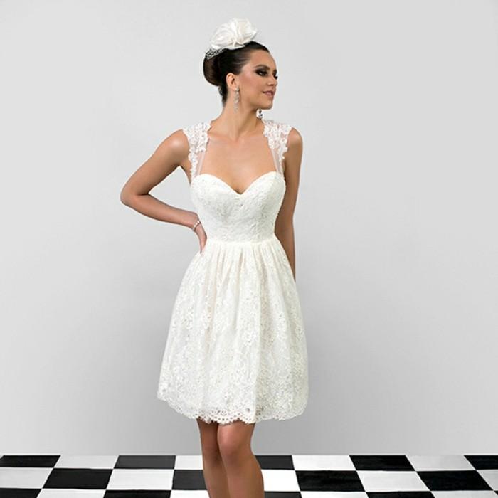 habille-robe-courte-de-mariage-robe-courte-de-mariee-cool-retro