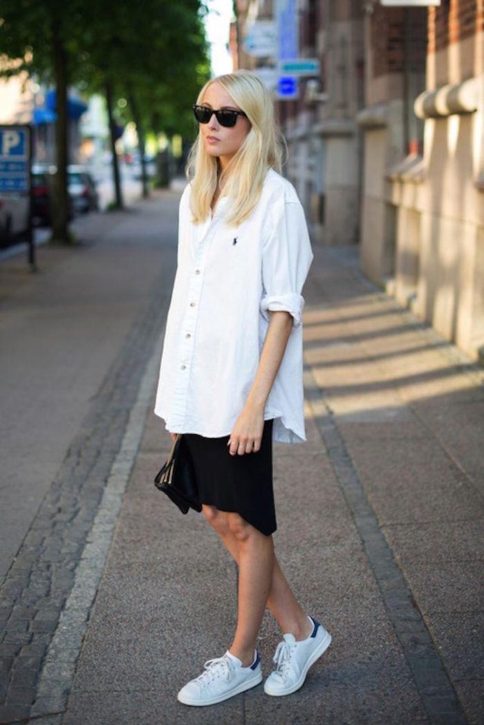 hipster-fille-adidas-stan-smith-femme-blanc-bleu