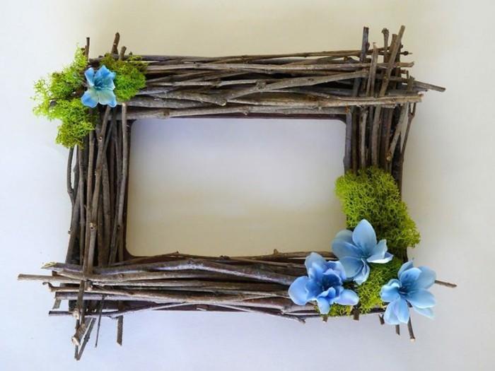 Fabriquer un cadre photo 60 id es pour un objet valeur - Decoration cadre photo a faire soi meme ...