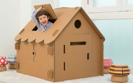 Comment fabriquer une cabane en carton - tuto et plusieurs modèles