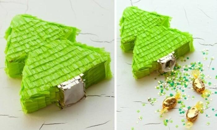 Fabriquer une pinata plus de 80 projets sympas - Faire un sapin de noel en papier ...