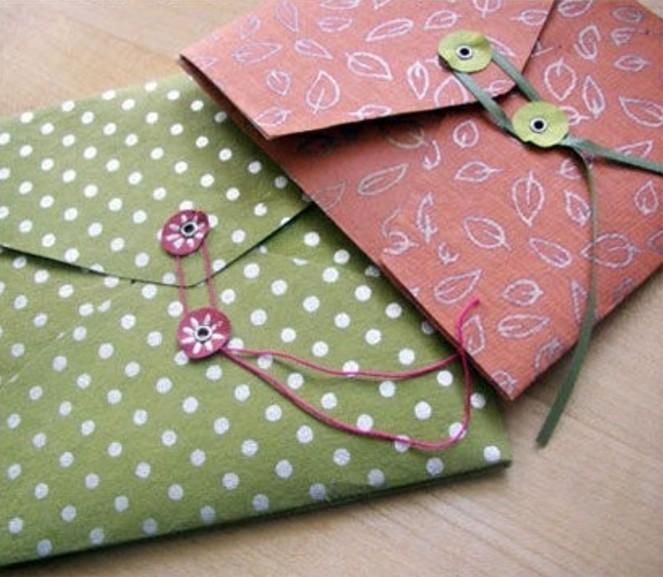 Les meilleures id es pour fabriquer une enveloppe - Decoration en papier a faire soi meme ...