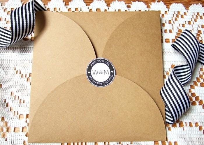 Les meilleures id es pour fabriquer une enveloppe - Cadeau a faire soi meme pour la saint valentin ...