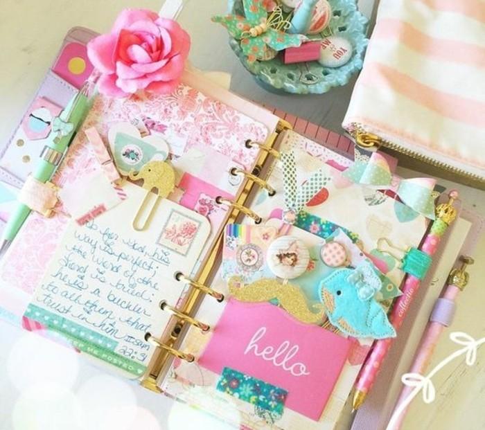 jolies-petites-decorations-pour-personnaliser-et-embellir-son-planner-exemple-magnifique-agenda-scolaire