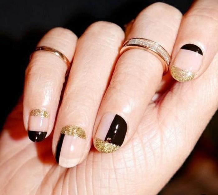 l-ongle-pour-noel-nail-art-fete-idee-nail-art-ongles-noel-magnifique-en-noir-et-dore