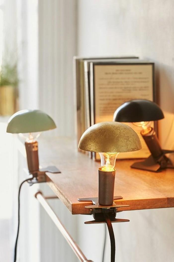 la lampe pince en 45 photos d couvrez l 39 clairage. Black Bedroom Furniture Sets. Home Design Ideas