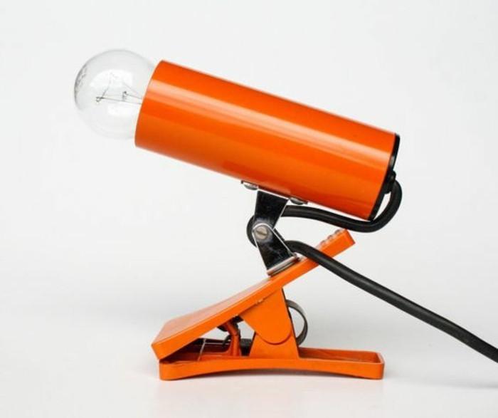 lampe-de-bureau-a-pince-design-orange-lampe-de-travail-et-de-lecture